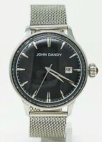 Orologio john dandy jd-2609m elegant watch dandy clock jd2609m man's horloge