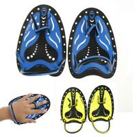 1Pair  Swim Gear Training Webbed Hand Gloves Paddles Swimming Supplies
