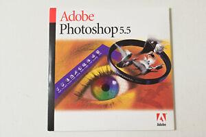 Adobe Photoshop 5.5 Vollversion, MAC, CD mit Seriennummer