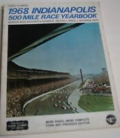 1968  CLYMER YEARBOOK INDY 500 INDIANAPOLIS BOBBY UNSER STP TURBINES MUCH MORE