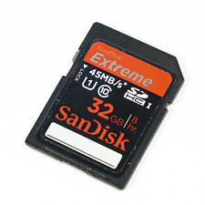 SanDisk - Extreme 32GB 45MB/s - SDHC Card