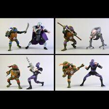 -=] NECA-TMNT Ninja Turtle Raphael - Michelangelo - Leonard - Raphael 2pack [=-