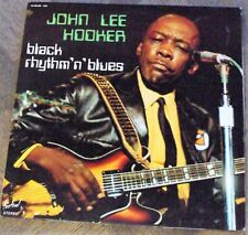 Vinyles 33t / 30cm - John Lee Hooker - Black Rhythm'n'blues - France 1970   D409