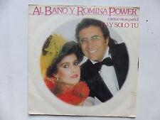 AL BANO y ROMINA POWER Cantan en espanol Tu y solo tu BRA A 3621