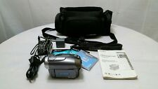 Sony Handycam DCR-DVD403 NTSC DVD R/RW With Bag & Instruction Book + AC adapter