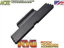 RYG Black Extended Slide Lock Lever ESLL for Glock Gen 1-4