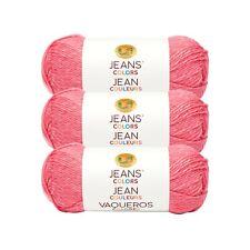 Lion Brand Yarn 506-101 Jeans Colors Yarn, Bermuda Shorts (Pack of 3 Skeins)