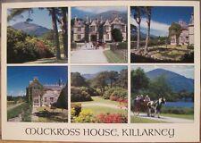 Irish Postcard MUCKROSS HOUSE Multiview Killarney Ireland John Hinde 2/KY-004