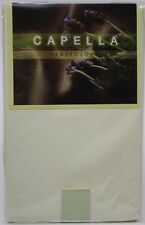 Capella Ivory 52x70 Oblong Tablecloth NIP