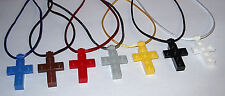 12 LEGO CROSS NECKLACE RELIGIOUS PARTY FAVOR SUNDAY BIBLE CHURCH SCHOOL GIFT BAG