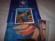 "Artist's Corner Flag,  29"" x 42""  ""Scarecrow's Friends"""
