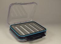 """Waterproof Fly Box - Double Sided case w/foam inserts 5""""x 4""""  #1921"""
