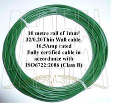 1mm sq. vert auto câble 16.5AMP 10mtr pack