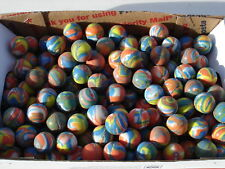 SWIRL BOUNCING BALLS 3/4'' LOT OF 288 CARNIVALS, VENDING, PARTY TOYS. FAVORS