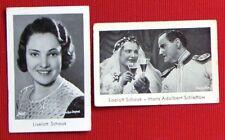 Liselott Schaak 1932 Josetti Cigarette Cards Lot 2