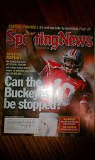 The Sporting News Troy Smith Ohio State Buckeyes #10 QB NCAA College Football