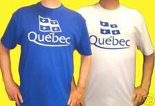 QUEBEC:T.SHIRT Québecois ROY ou BLANC Tailles 3/4 à 12/14 & S - M - L - XL - XXL
