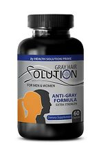 Keep Hair Healthy - Anti Gray Hair Solution 1500mg - Saw Palmetto Extract 1B