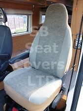 TO FIT A FIAT DUCATO MOTORHOME, 2007, SEAT COVERS, HARI II MH-046, 2 FRONTS