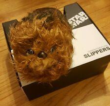 Large Star Wars Men's Character Plush Slippers ~ NIB
