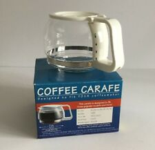Melitta 5 Cup Glass Replacement Carafe And Lid Fits Multiple Coffeemakers