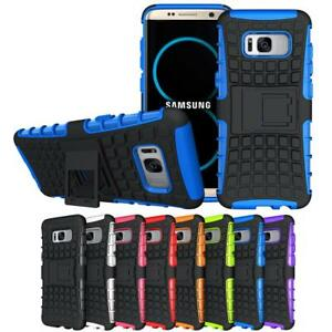 Shockproof Protective Kickstand Hybrid Case Accessory For Samsung Galaxy S8 Plus