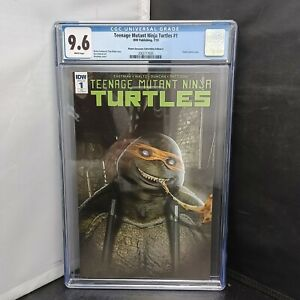 CGC Graded 9.6 TMNT #1 IDW Publishing 2018 Planet Awesome Collectibles Variant