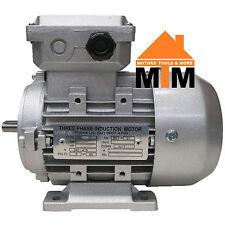 Three Phase Electric Motor 415V 0.37 kW 0.5 HP 1400rpm 4 Pole