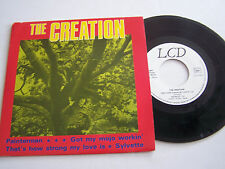 EP 4 TITRES VINYL 45 T , THE CREATION , PAINTERMAN . LCD 104 B . REEDITION .