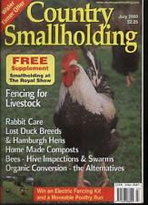 July Country Smallholding Pet & Animal Care Magazines