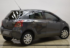 TOYOTA YARIS 5-doors hatchback 2005-2011 4-pc wind deflectors HEKO Tinted