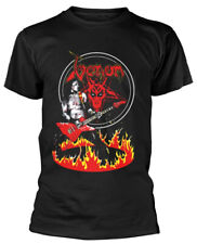 Venom 'Cronos In Flames' (Black) T-Shirt - NEW & OFFICIAL!