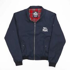 Vintage LONSDALE Black Harrington Jacket Mens Size Large