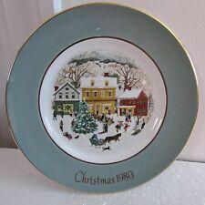 "8 3/4"" Avon Christmas Plate Country Christmas, Eighth Edition, 1980, Wedgwood"