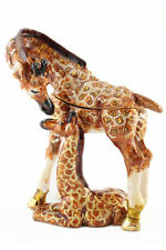 Giraffe Baby Jewelry Trinket Box Decorative Collectible Animal Cute Gift 02084