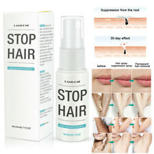 Stop Hair Growth Inhibitor Pubic Hair Repair Smooth Permanent Removal Spray