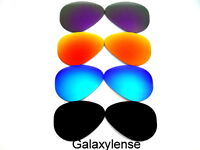 Galaxy Replacement Lenses For Ray Ban RB3025 Aviator Black&Blue&Red&Purple 58mm