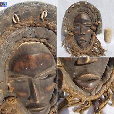 SPECIAL Dan Gioh Yacuba RAFFIA Mask Figure Sculpture Statue Tribal African Art