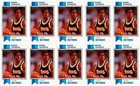 (10) 1993 SCD #18 Magic Johnson Basketball Card Lot Los Angeles Lakers