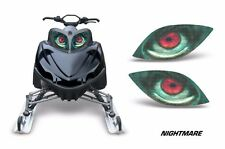 Headlight Eye Graphics Kit Decal Cover For Arctic Cat M Series Crossfire NIGHT