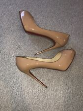 Christian Louboutin 39 Nude Heels Very Good Condition