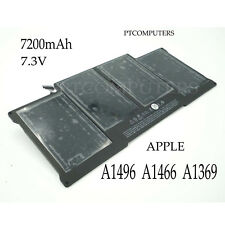 "7200mAh Battery A1496 for Apple MacBook Air 13"" A1369 A1466 2013 and 2014 Models"