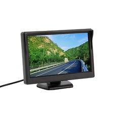 "New 5"" 480*272 (no 320*240) Car TFT LCD Monitor Screen 2ch Video ~Q"