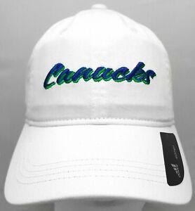 Vancouver Canucks NHL Adidas adjustable cap/hat