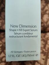 Estee Lauder. New Dimension. Shape + Fill Expert Serum. 1.7 fl. oz.  New.in Box!