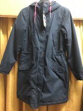 Seasalt Three Seasons Coat. Squid Ink. Sizes 8,12,. Rrp £150.