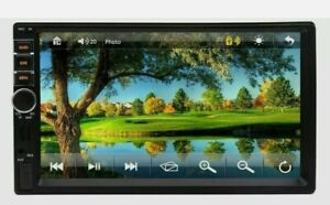 7Inch Double 2DIN Car MP5 Player Bluetooth Touch Screen Stereo Radio With Camera