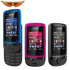 Nokia C2-05 - Dynamic grey blue pink (Unlocked) Cellular Phone