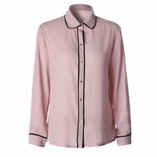 Camisas y tops de mujer de manga larga blusa de chifón