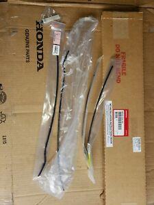 2013-17 Honda Accord Sedan OEM Obsidian Blue Door Edge Guards